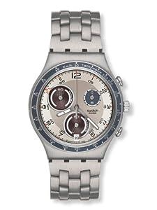 Swatch Irony Chrono Cinnamon Eye Silver Dial Men's watch #YCS536G