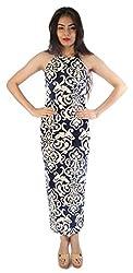 Tenn Women's Maxi Dress (BLVD11NSXS_XX-Large_Multi)