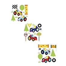 Mothercare Race Cars Wall Stickers