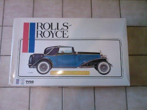 Pocher K72 Rolls Royce Phantom II Sedanca Coupe 1/8 Scale Vintage Car Model Kit
