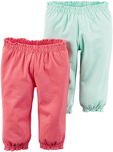 Carter's Baby Girls Bottoms 126g265, Pink, 3 Months