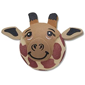 Tenna Tops - Giraffe Animal Print Antenna Topper / Antenna Ball (We Offer One Low Flat Rate 3.39 Combined Shipping! Order Any Quantity / Designs of Tenna Tops Brand and Save)