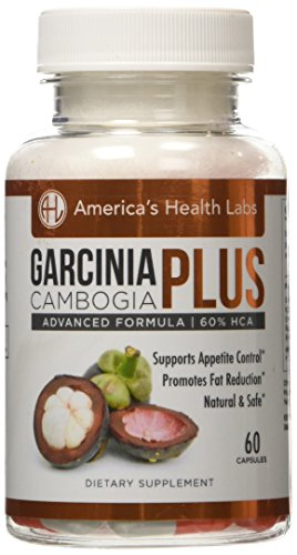 AHL Garcinia Cambogia Plus Extract , Best Weight Loss Pills and Natural Appetite Suppressant 60 Capsules