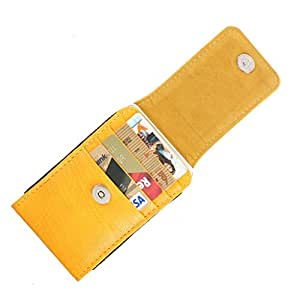 DooDa PU Leather Pouch Case Cover With Magnetic Closure For Micromax Ninja A54