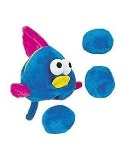 Kyjen Puzzle Plush Egg Babies Fish Dog Toy