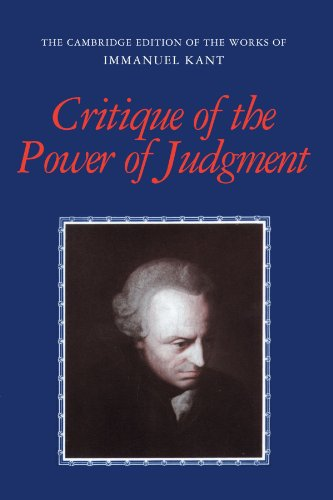 Critique of the Power of Judgment (The Cambridge Edition...