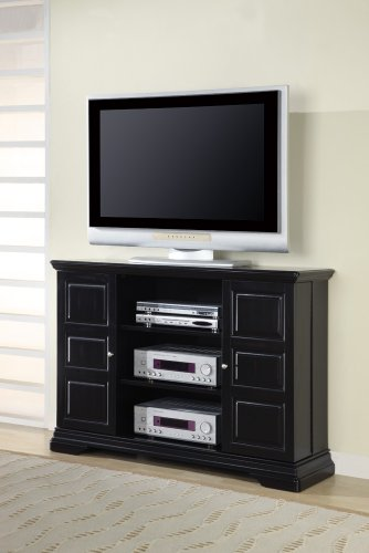 Inland Empire Furniture Risley BlaCalifornia King Solid Wood Flat Panel TV Stand