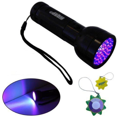 hqrp-profesional-linterna-51-led-uv-ultravioleta-390-nm-antorcha-lampara-mas-hqrp-medidor-del-sol