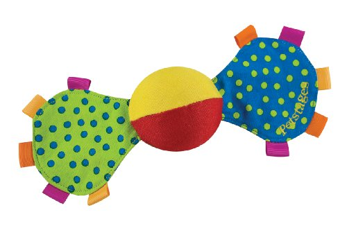 Petstages Playing Mini Shake N Squeak Dog Toy