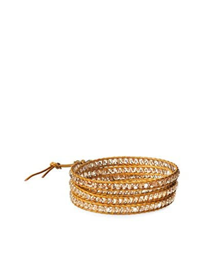 Chan Luu Golden Shadow and Henna Wrap Bracelet