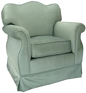 Angel Song Aspen - Seafoam Empire Adult Rocker Glider - Foam Filled