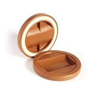 """Slipstick CB840 3-1/4"""" Bed Roller / Furniture Wheel Gripper Cups (set of 4) Caramel Color"""