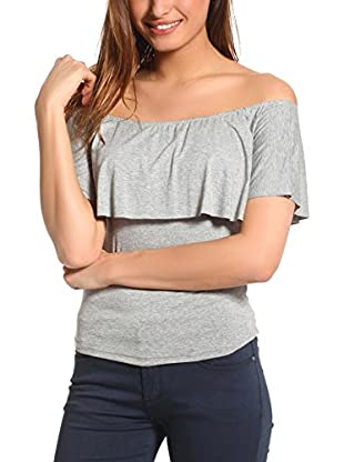 FRENCH CODE Top Aurora (Gris)
