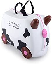 Trunki Ride-on Suitcase: Frieda the Cow (Black & White)