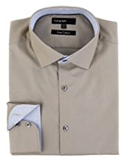 Autograph Pure Cotton Tailored Fit Shirt