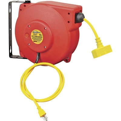 Best Price Northern Industrial Retractable Cord Reel - Triple OutletB0000ERN8H