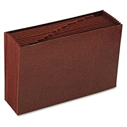 Smead - 2 Pack - Jan-Dec Open Accordion Expanding File 12 Pocket Legal Leather-Like Redrope \