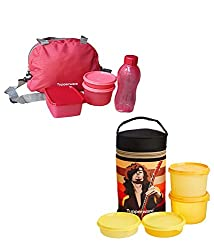 Tupperware Sling-A-Bling Lunch Set with Executive lunch set