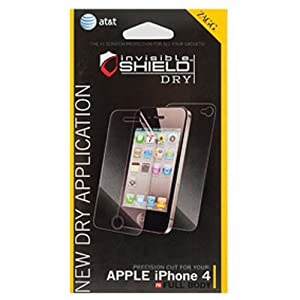 ZAGG invisibleSHIELD DRY (Easy Installation Version) for Apple iPhone 4