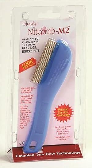 Shantys Nit Comb M2 Double Row Head Lice Comb by Shantys