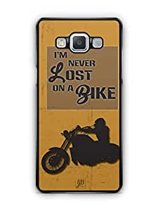 YuBingo Never Lost on a Bike Mobile Case Back Cover for Samsung Galaxy A5