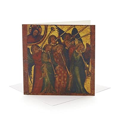 V&A Christmas Cards - Trumpeting Angels (Pack of 10, Square)||RF20F||EVAEX