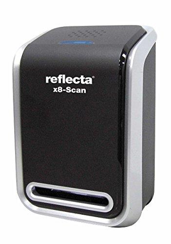 Reflecta 4005039642807 Scanner per Diapositive e Negativi, Nero