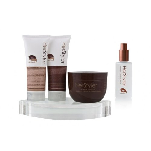 Herstyler Argan Oil Complete Hair Care Set (With Free Gift)