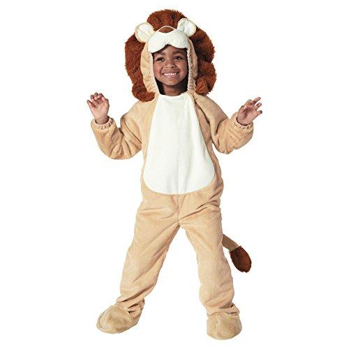 [Toddler Lion Plush Costume (18-24 months)] (Lion Mane Costume For Kids)
