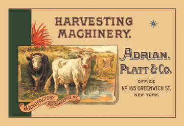 Harvesting Machinery: Adrian Platt & Co.