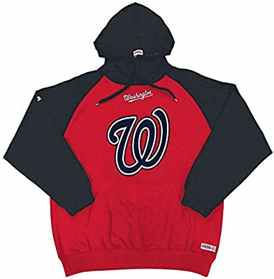 MLB Washington Nationals Men's Big Logo Pullover Hood