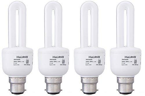 Halonix 9 W CFL 2U Bulb (Pack of 4) Image