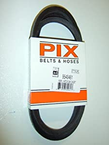 754-0461, 954-0461 Replacement belt made to FSP specs., For MTD, Cub Cadet, Troy Bilt, White, YardMan by Pix