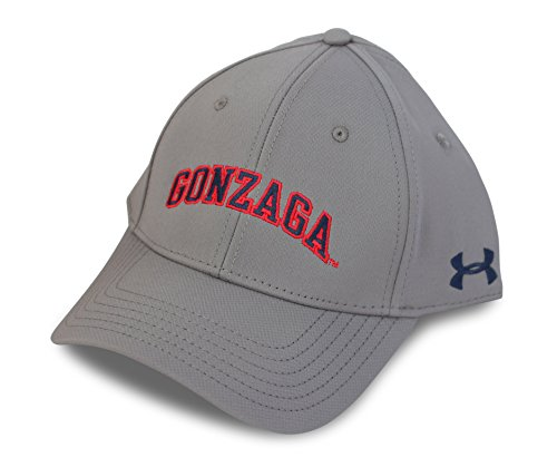 Under Armour NCAA Renegade Stretch Fit Hat, Gonzaga University, Graphite, L/XL (Gonzaga Cap compare prices)