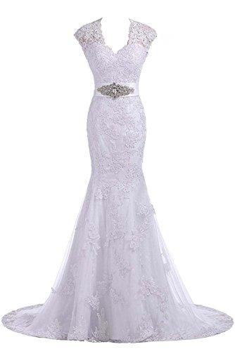 24d73d4d45a6 Ruiyuhong Lace Open Back Sexy Long Wedding Dresses Bridal Gowns