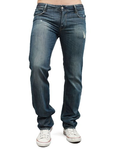Japan Rags 811 Peacock Straight Blue Man Jeans Men - W38