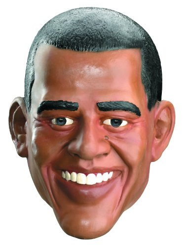 Barrack Obama Vinyl Full Face Costume Mask