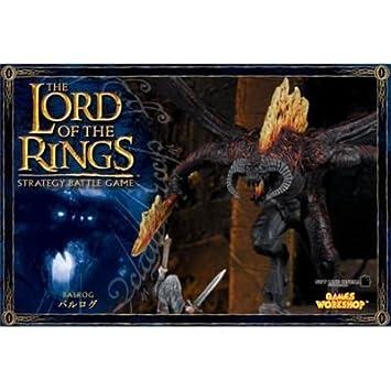 Games Workshop - 99121499016 - Seigneur des Anneaux - Figurine - Balrog