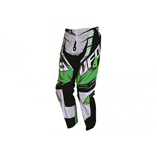 Pantalon UFO VOLTAGE vert T30 - 43301430 - Pantalon Off-Road pilote moto UFO Vol