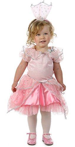 Child Wizard of Oz Glinda Glitter Costume