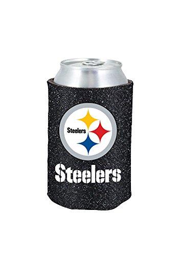 Pittsburgh Steelers Glitter Kolder Kaddy Can Holder front-873770