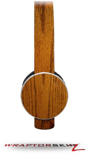 Wood Grain - Oak 01 Decal Style Skin (Fits Sol Republic Tracks Headphones - Headphones Not Included)
