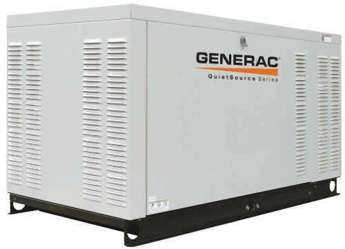 Generac Quietsource Series Qt02724Anax 27 Kw Liquid-Cooled Propane/Natural Gas Powered Standby Generator Without Transfer Switch (Carb Compliant)