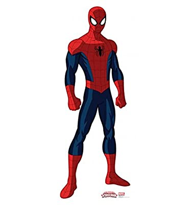 Ultimate Spider-Man - Advanced Graphics Life Size Cardboard Standup