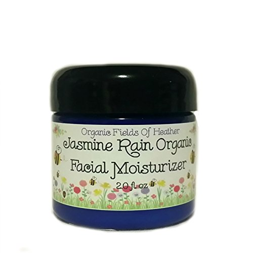 Organic Facial Moisturizer - 100% All Natural Non-Gmo Face Cream - Light & Natural Summer Jasmine Scent - 100% Certified Organic Ingredients - Anti-Aging - For Women Or Men - Will Not Dry Out Your Skin Or Leave A Long Lasting Oily Residue. Will Heal Your front-449486