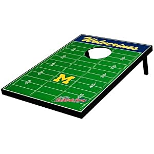 Michigan Wolverines Football Bean Bag Toss Game by Cabela