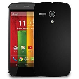 Snoogg Dark Black Pattern Design Designer Protective Phone Back Case Cover For Motorola G / Moto G