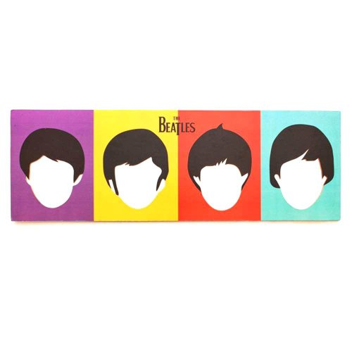 PoppadumArt Be Who You Want To Be - The Beatles Miror