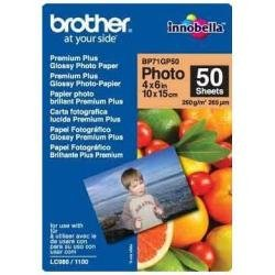 Brother BP71GP50 Photo Paper A6 260 g/m2 for MFC-6490CW DCP-375CW 6890CDW 50 Sheets