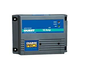 Guest 2610A Charge Pro Series Marine Battery Charger (12-Volt, 10-Amps 5 5, Double... by Guest